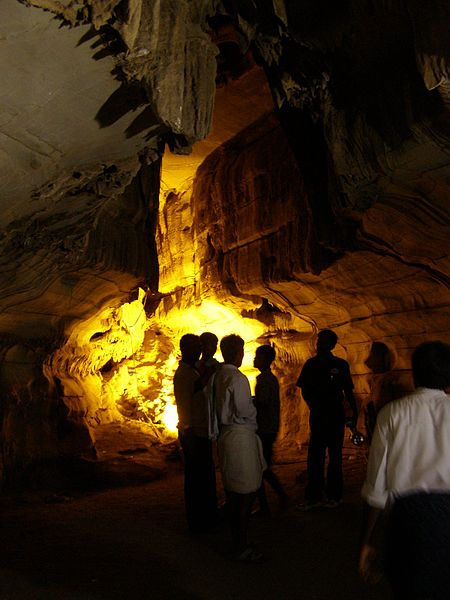 Belum Caves Visitors