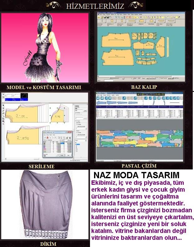 Moda tasarım ile ilgili neler yapıyoruz ? hepsi burada