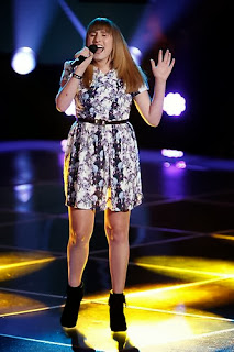 Caroline Pennell of The Voice