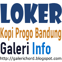 Informasi Loker Lowongan Kerja di Kopi Progo Cafe Bandung 2015