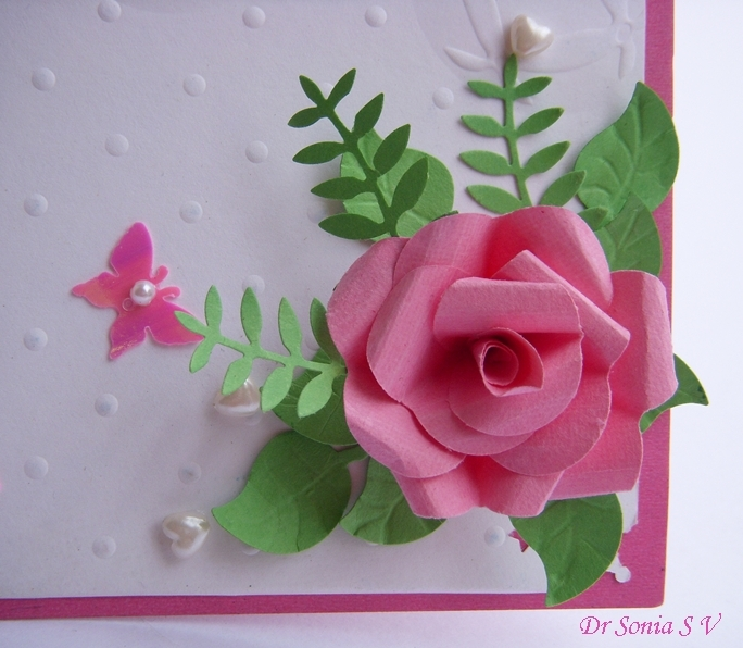 Cards crafts kids projects simple pop up cake card tutorial for Easy handmade flowers