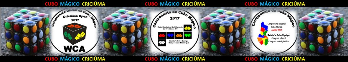 *CAMPEONATO OFICIAL DE CUBO MÁGICO*  # # # # # # CRICIÚMA OPEN 2016  # # # # # #