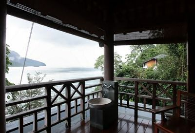 The Andaman Spa with view on the Andaman Sea