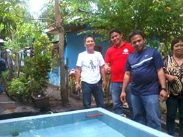 A water system project at Sitio Pogi-Lawis