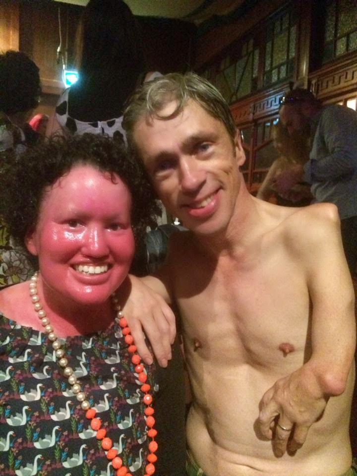 Mat Fraser and Carly Findlay, Melbourne