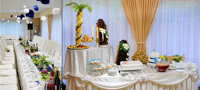 Vestuvinis stalas Dainiaus sodyboje