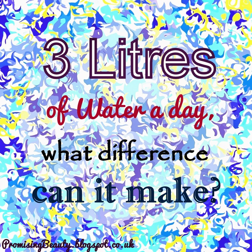 3 litres of water a day, what difference can it make?