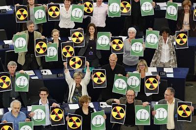 Френски членове на група на Зелените Европейски свободен алианс