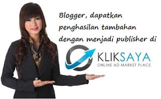 Cara Daftar Menjadi Publisher di Kliksaya