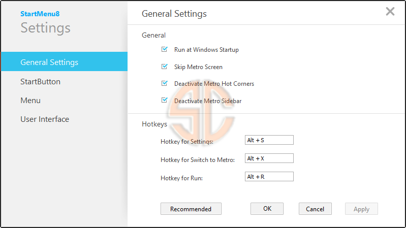 Windows 8Start Button v3.0