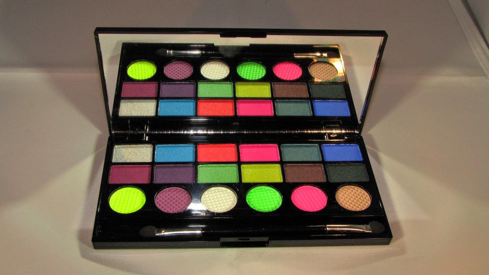 Makeup Revolution Colour Chaos Palette