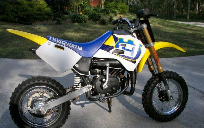 Husqvarna CR50 Dirt Mini Old Motorcycles