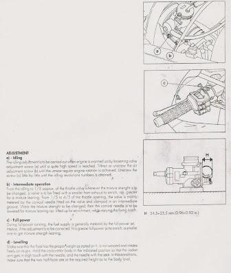 Cagiva Mito 125 28mm carb strip down video