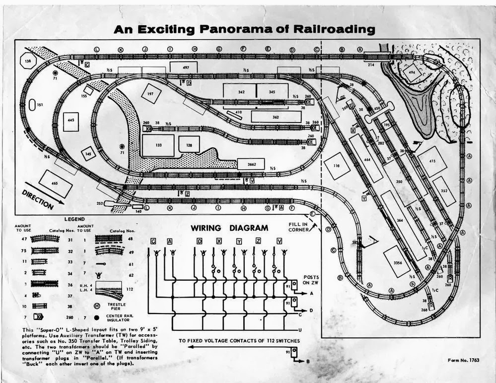 Wiring Diagram Lionel Cattle Car : O gauge report our white whale super dealer layout