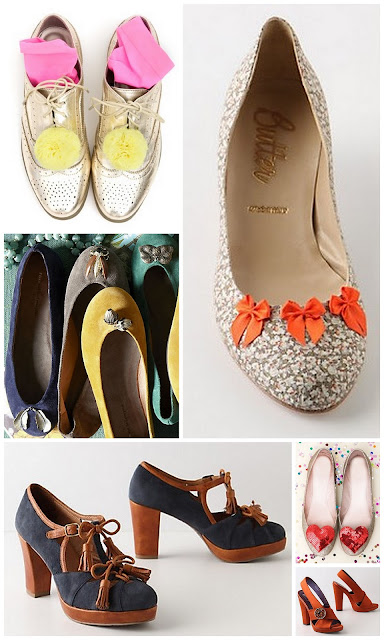shoe charms anthropologie ban.do