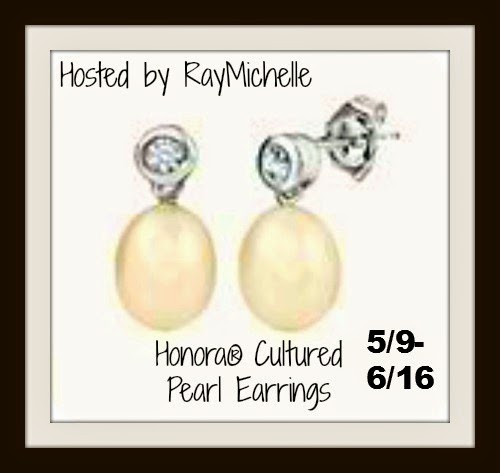 Cultured Pearl Earrings Giveaway