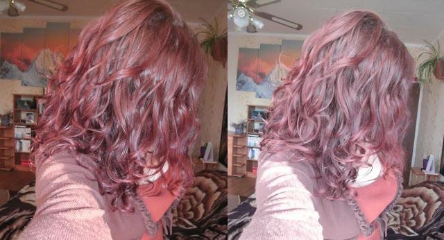 Niedziela dla włosów - dopieszczanie fal po porządnym przenawilżeniu ;)