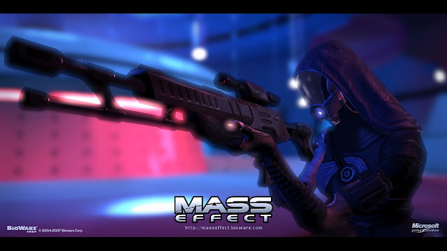 Mass Effect Rifle Aiming Game