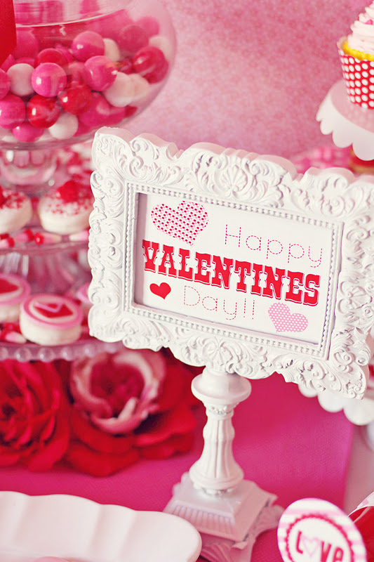 Kara\'s Party Ideas Valentine\'s Day Love Party | Kara\'s Party Ideas
