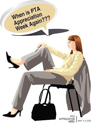 PTA Appreciation Week Poster