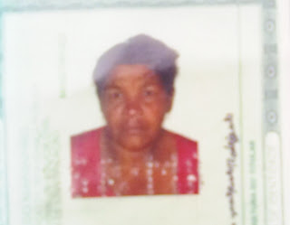 Dona Maria de Fátima, de 52 anos de idade