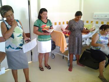Evangelização na Fundação Hospitalar Rio Branco-AC
