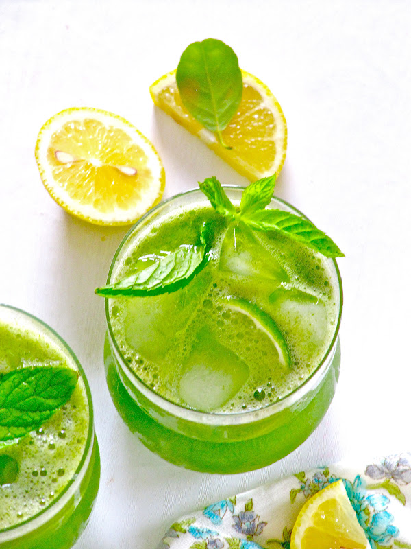 Plateful: Limonana—Refreshing Mint Lemonade—the coolest of summer ...