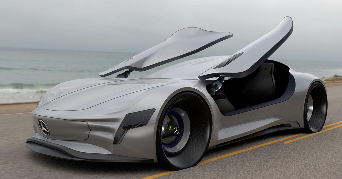 All Cars Nz 2015 Mercedes Benz Gullwing Study