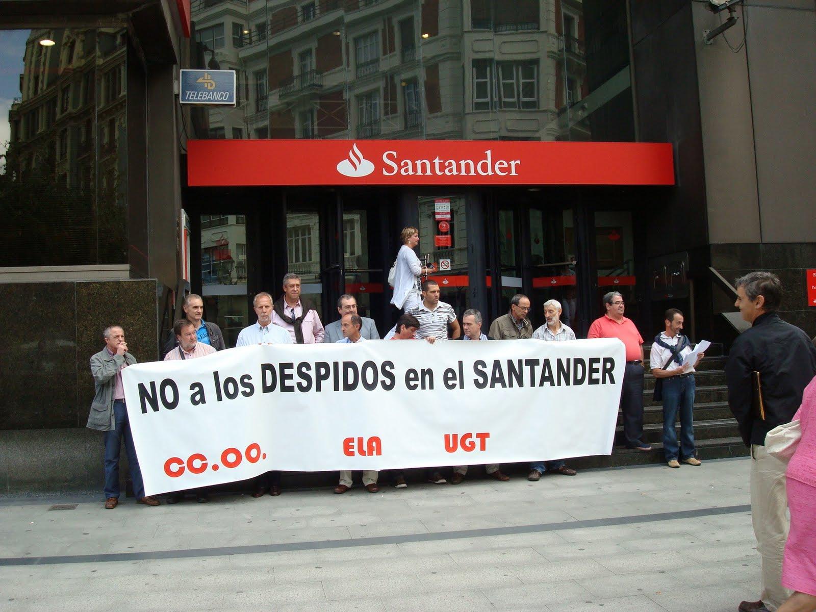 Som drets som lluita julio 2011 for Banco santander bilbao oficinas