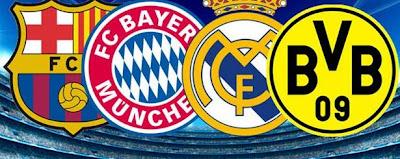 InfoDeportiva - Informacion al instante. REPETICION SORTEO UEFA CHAMPIONS LEAGUE. Resultados, Estadisticas, Online