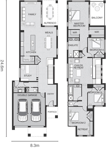 Adenbrook Homes Small Lot Need Not Mean Small Home