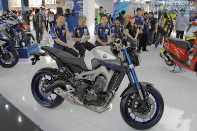 Harga Terbaru New Yamaha MT-09 Juni 2015