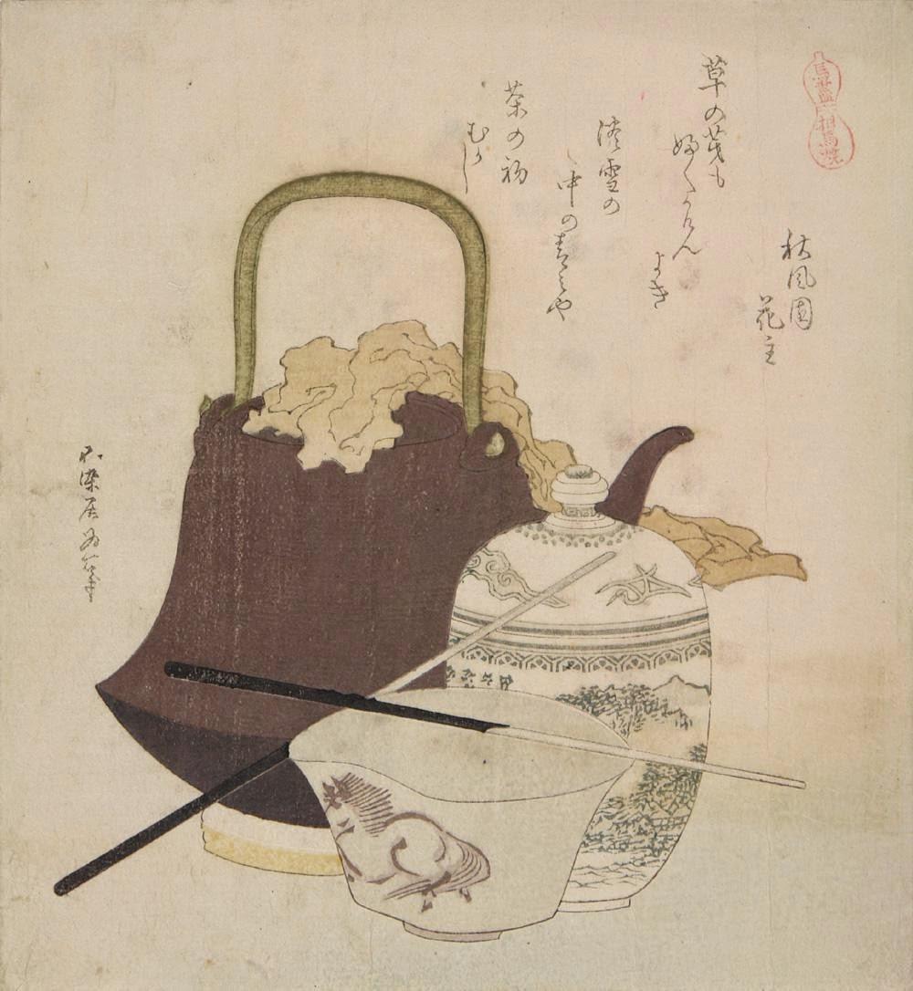 hokusai céramique