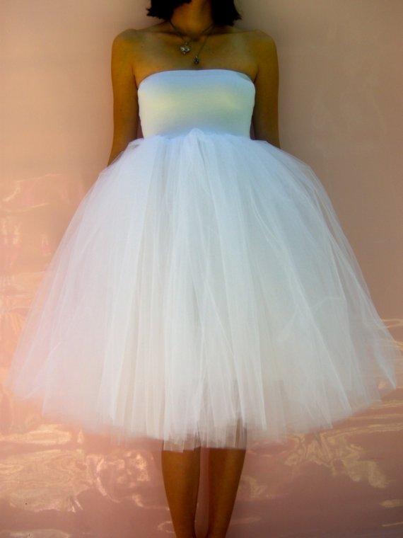 Как сшить платье из фатина пышное для девушки 64
