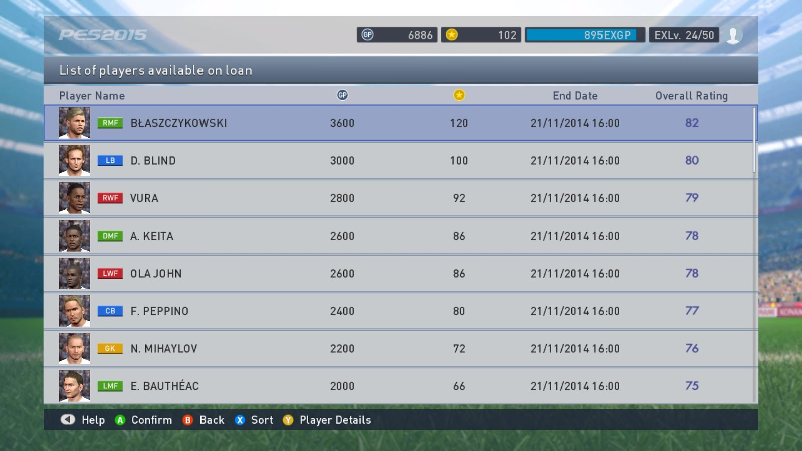 pes myclub coin prices revealed pesedit blog another way to spend the pes 2015 myclub coins is to sign new managers for your team managers in pes 2015 myclub have different management skills and