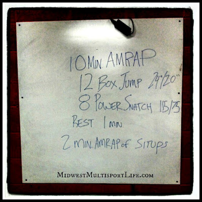 CrossFit Amplify WOD 1-15-13