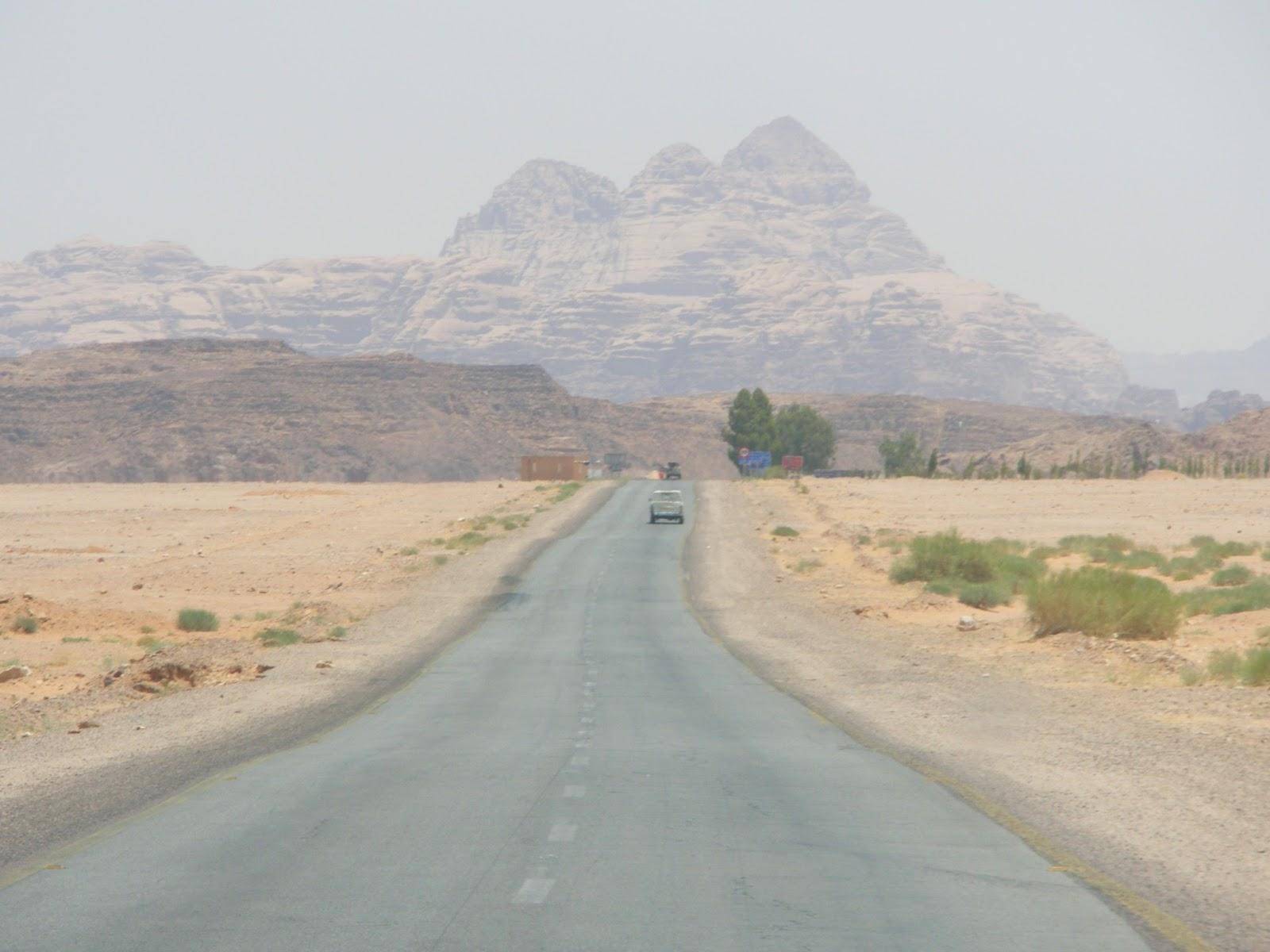 jordania desierto petra viaje