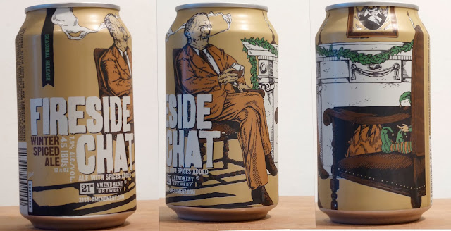 21st Amendment Fireside Chat Winter Ale | Can Details