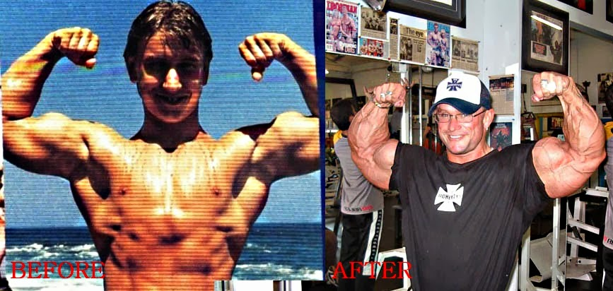 Bodybuilding steroids before and after