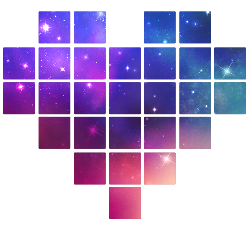 Png De Corazones Galaxy on One Direction Tumblr Transparent