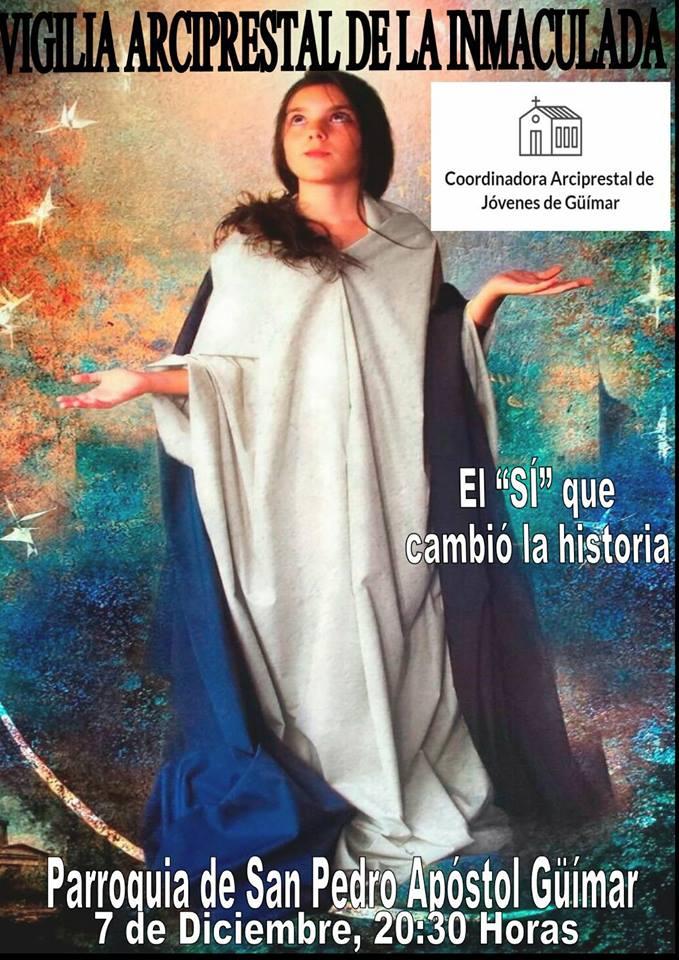 Vigilia de la Inmaculada Concepción. Arciprestazgo de Güímar