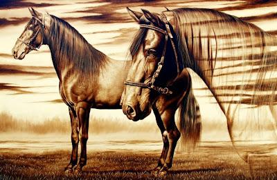 caballos bellos.
