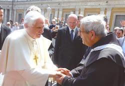 Padre G.M. Polidoro e Papa Benedetto XVI