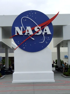 Logo della NASA al Kennedy Space Center. Foto di Paolo Amoroso