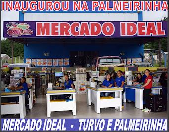 Inaugurou no Distrito da Palmeirinha o Mercado Ideal, com amplas e modernas instalaçõe