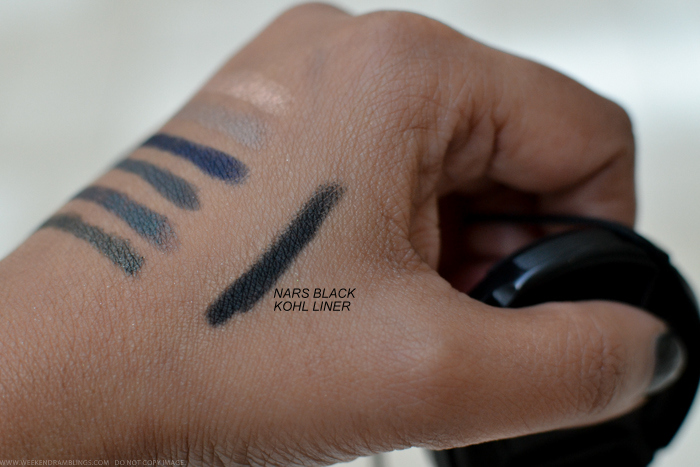 NARS Minorque Kohliner Black Eyeliner Pencil Swatch Fall 2015