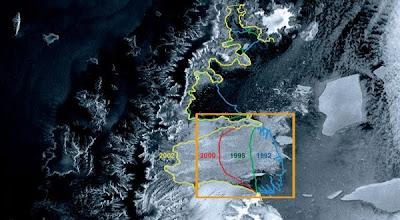 Pencairan Es Antartika