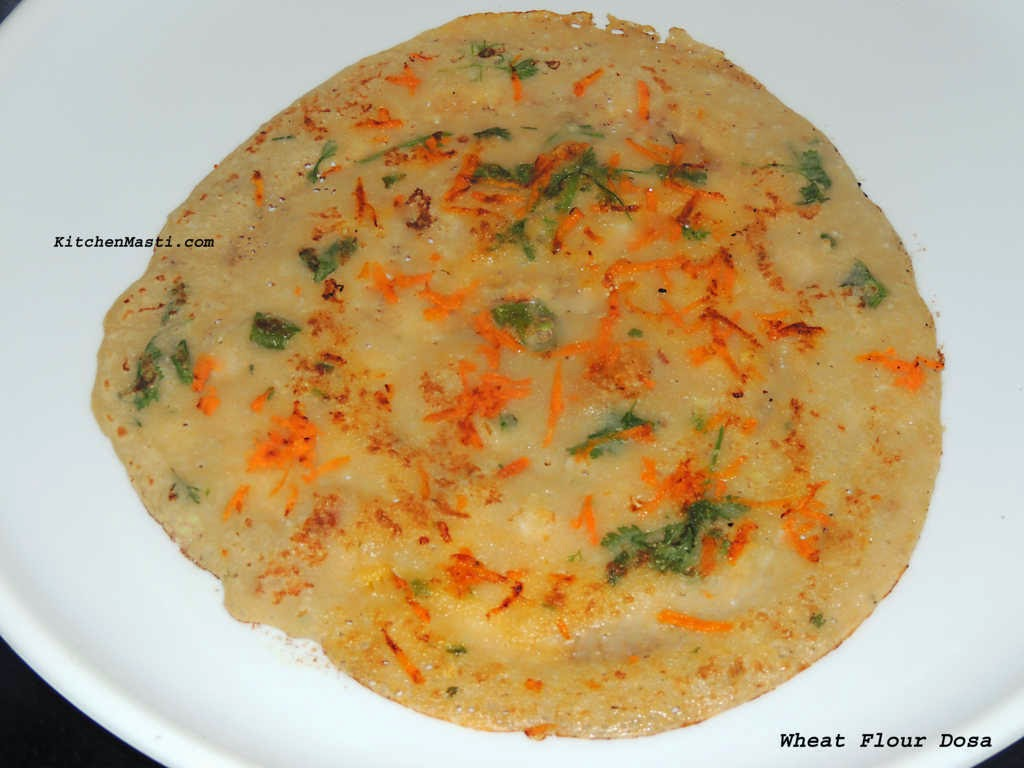 wheat flour dosa recipe godhi godhuma