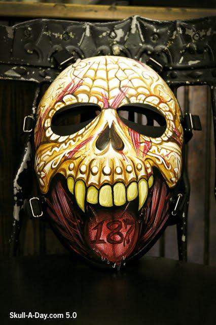 Bullet Proof Skull Mask