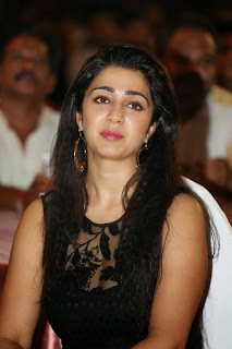 Actress Charmi Kaur Latest Pictures in Short Dress at 365 Days Audio Launch 10